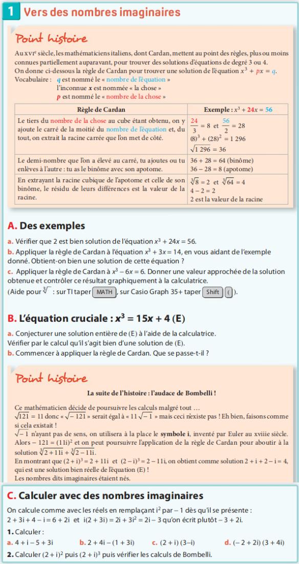 cm 2019-10-07 Activité 1 page 264-265