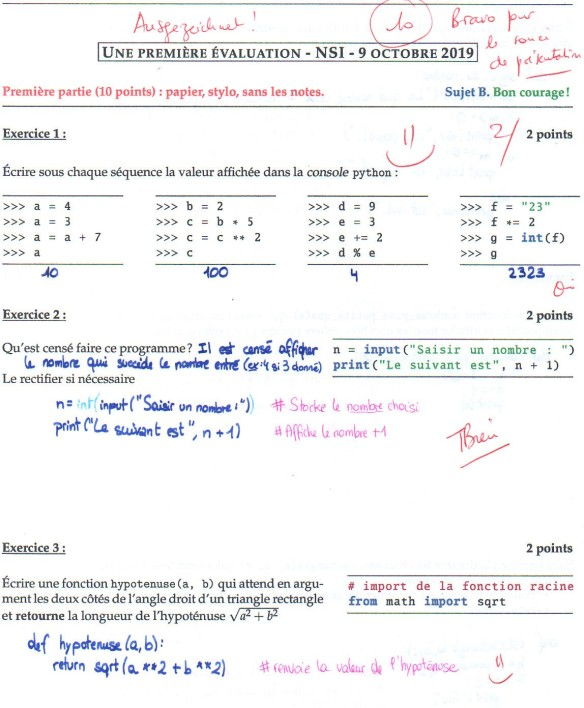 cm 2019-10-09 NSI première évaluation copie Alanis page 1