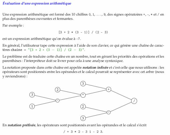 2020-04-27 CI application des piles 04 évaluation expression arithmétique généralités